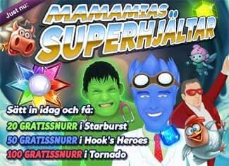 Superhjältar den 19 januari