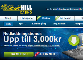williamhill front page