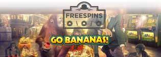 Freespins på Go Bananas