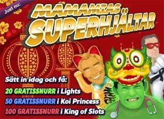 Superhjältar den 20:e feb