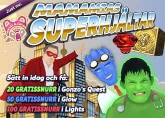 Superhjältarna hos MamaMia