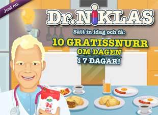 Dr Niklas den 14 mars