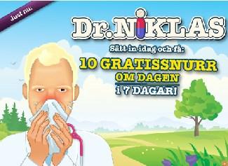 Dr Niklas den 7 mars