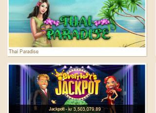 Luck casino spel