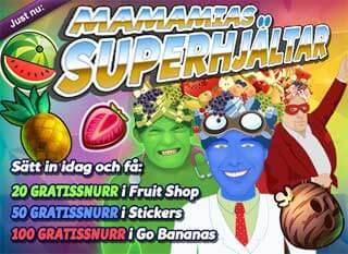 MamaMias superhjältar 15 mars