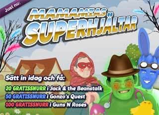 MamaMias superhjältar 26 mars