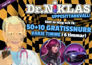 Dr Niklas den 1 april