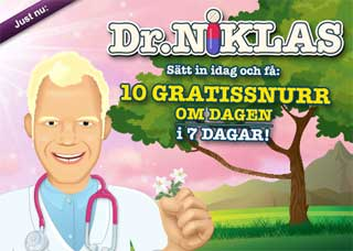 Dr Niklas den 18 april