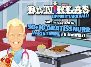 Dr Niklas 8 april
