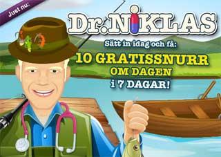 Dr Niklas fiskar