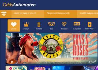 oddsautomaten casino front