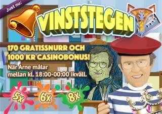 Vinststegen den 14 april