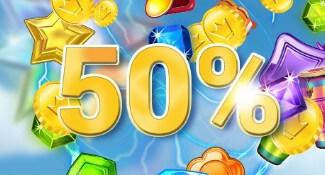 yako 50 procent bonus