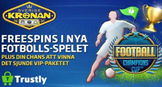 sverigekronan casino football champions cup