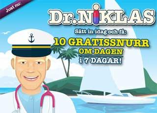 Dr Niklas den 2 maj