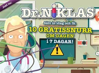 Dr Niklas den 9:e maj