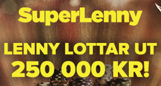 superlenny lotteri juni 2016