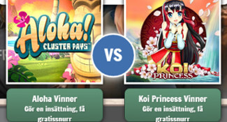 cherry casino aloha vs koi princess