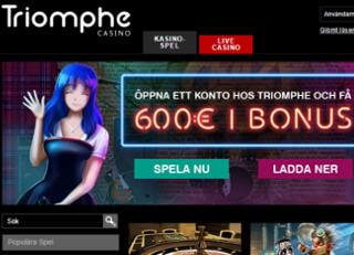casino triomphe bonus