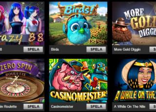 casino triomphe spelautomater