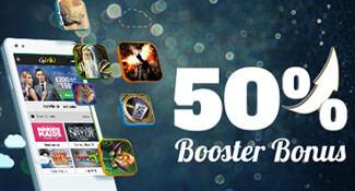 gowild casino 50 procent bonus