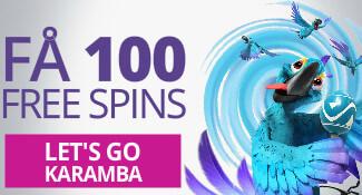 karamba 100 freespins
