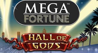 svea casino hall of gods mega fortune jackpot