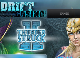 drift casino thunderstruck