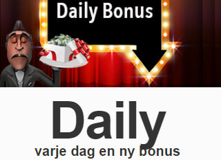 play7777 casino daglig bonus