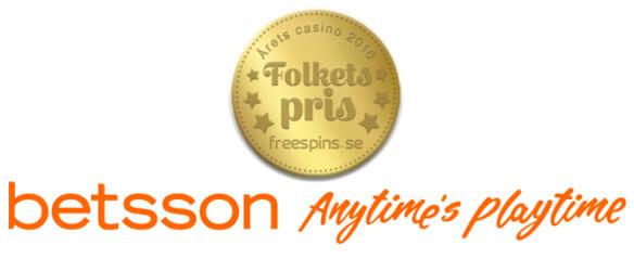 årets casino 2016 folkets pris betsson