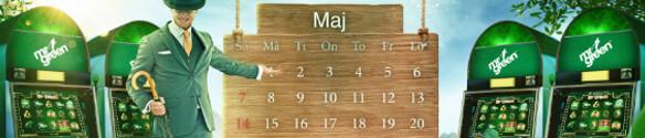 mr green maj 2017