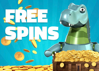 lucky dino free spins