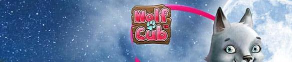 wolf cub spins hos NordicBet