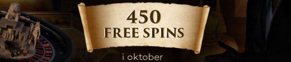 få 450 spins hos ShadowBet i oktober 2017