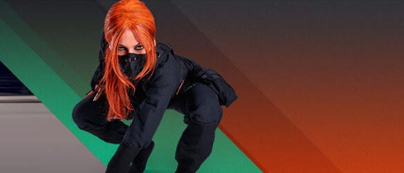 vem är ninja casino tjejen