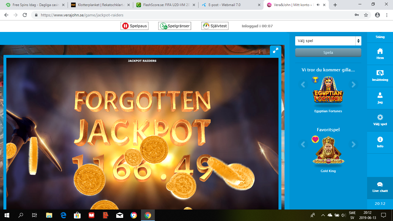 Casinotomten 5 jackpot3