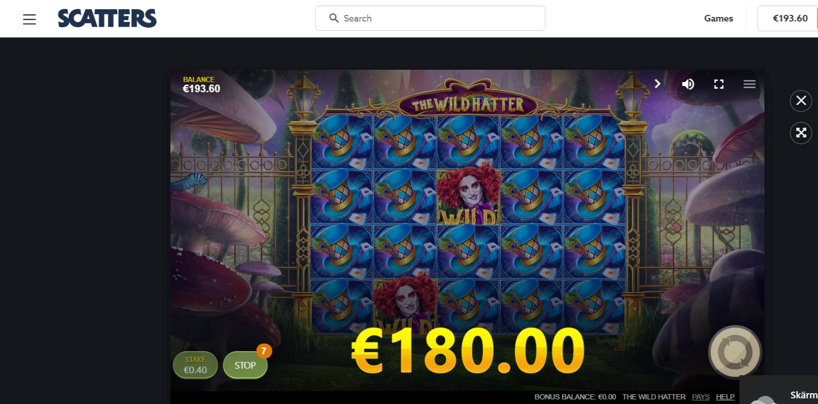 Casinotomten8 wild-hat