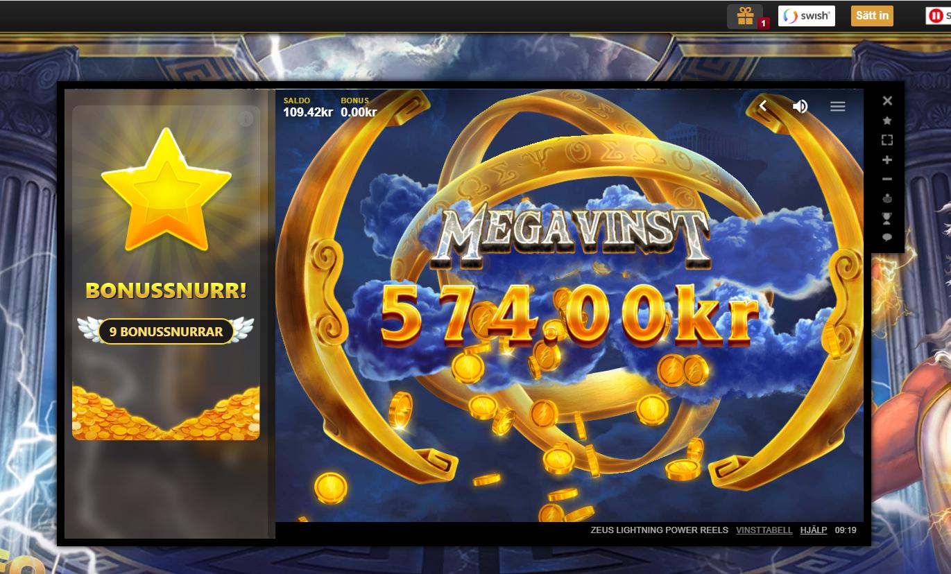 Casinotomten8 Zeus