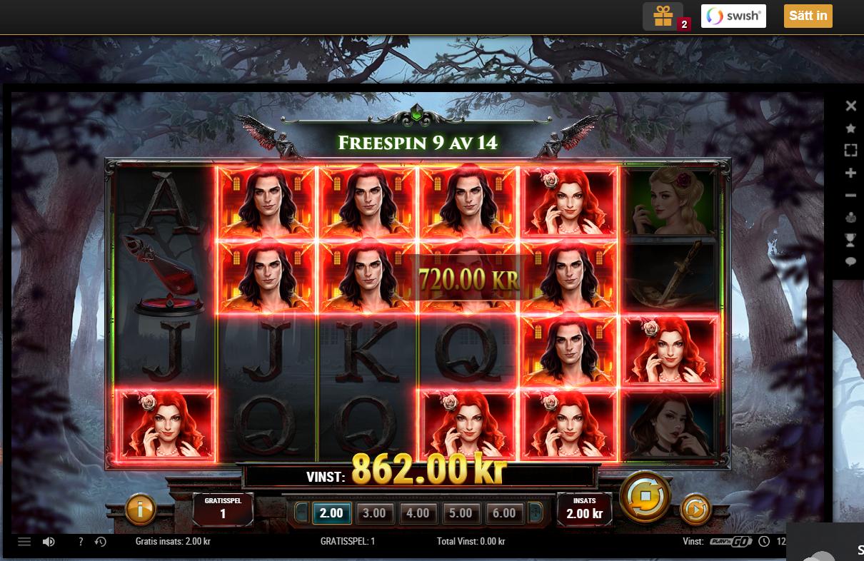 Casinotomten9 Wildblood