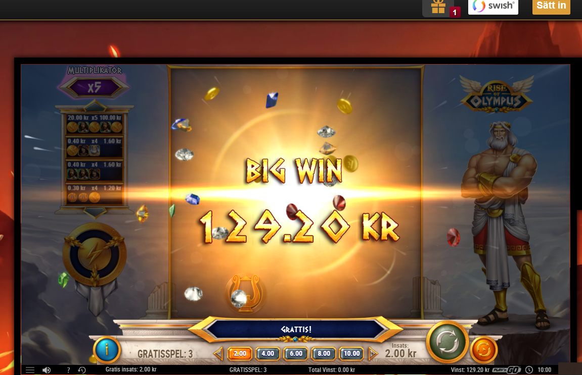 Casinotomten9 olympus