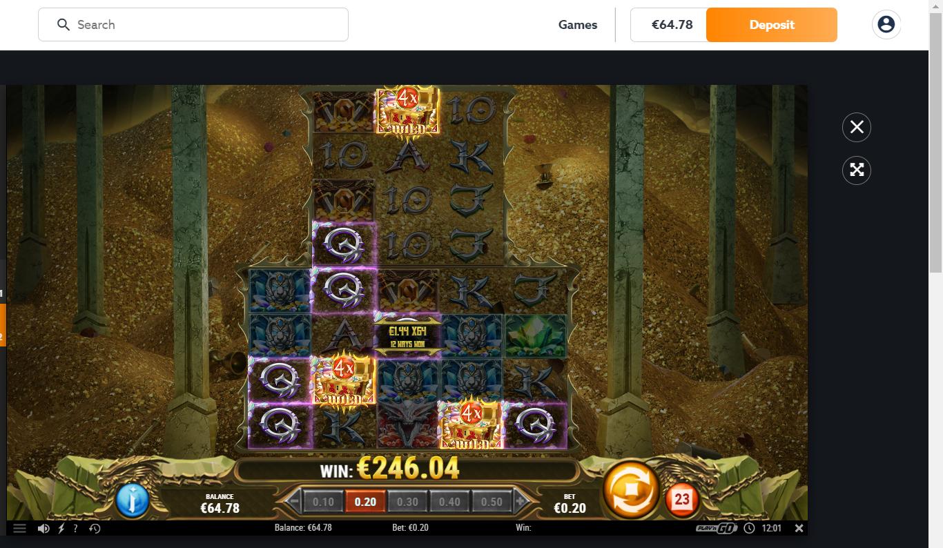 Casinotomten X 24k-Dragon