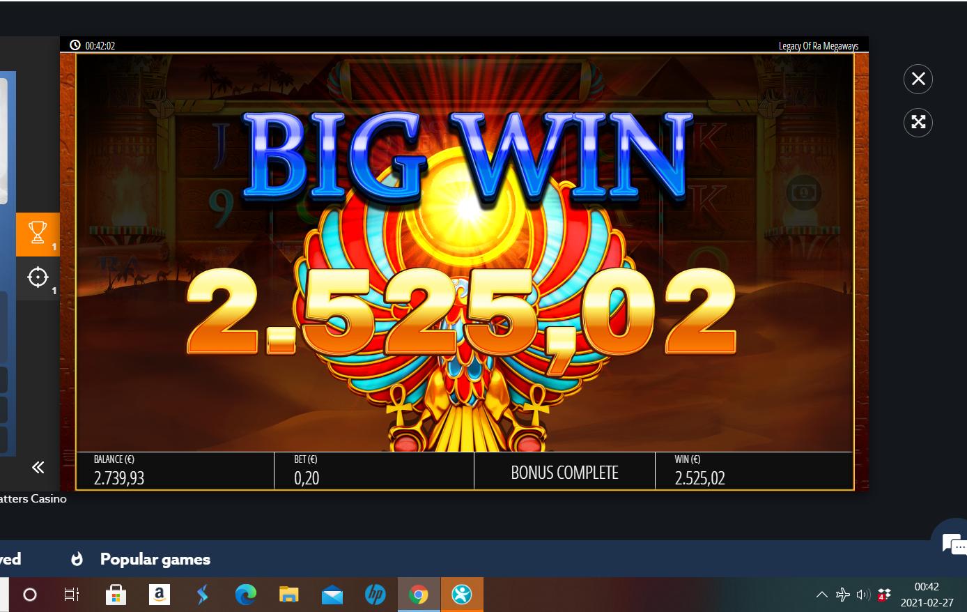 Casinotomten X Legacy-of-ra
