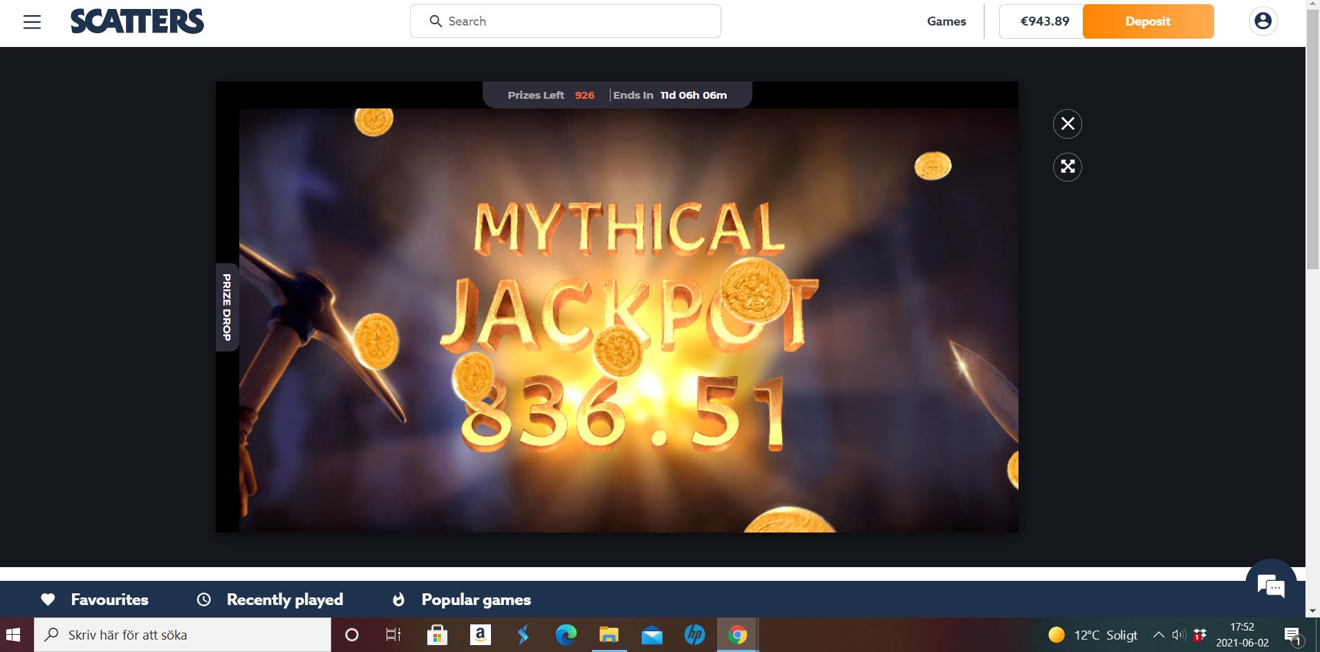Casinotomten X jackpotraid