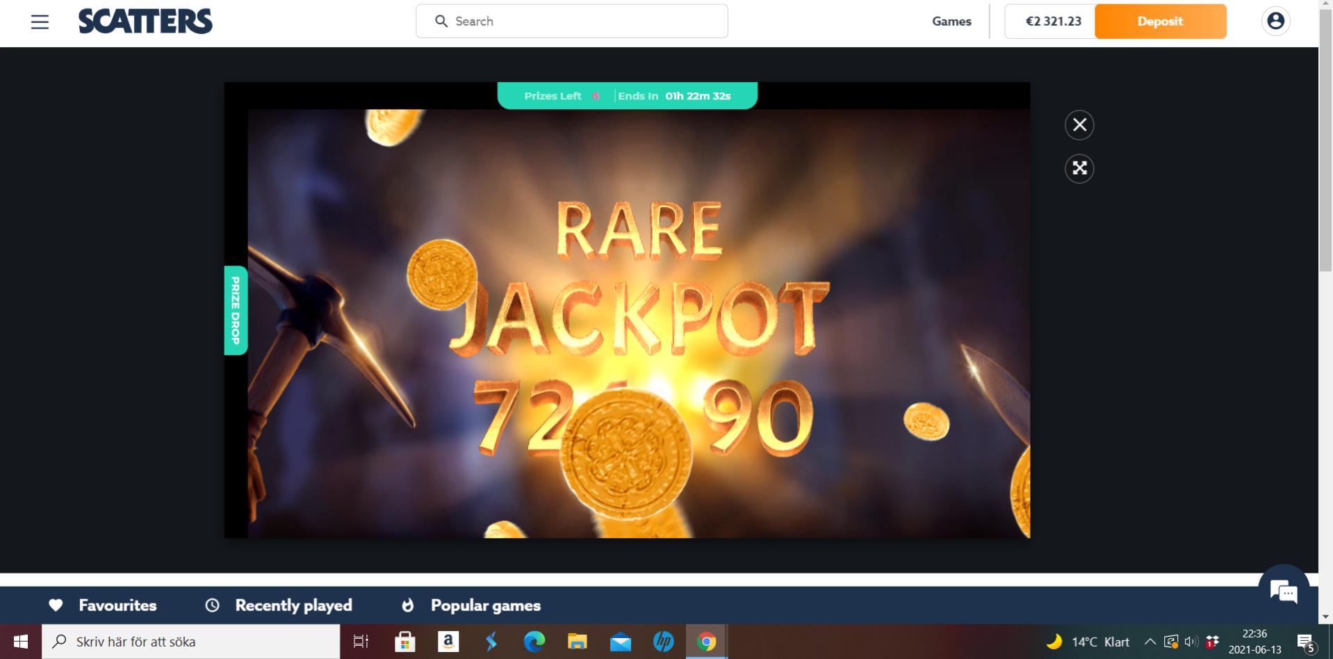 Casinotomten X jackpotraid2