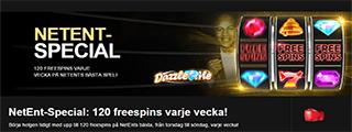 120 freespins Rel Deal Bet