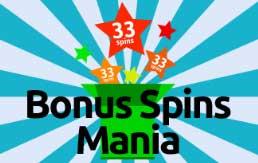 Bonus spins mania