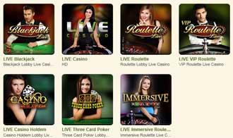 Casinostugan Live Casino