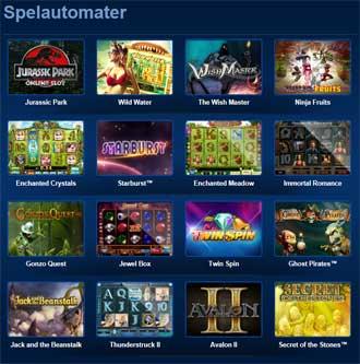 Tivoli Casino spelutbud