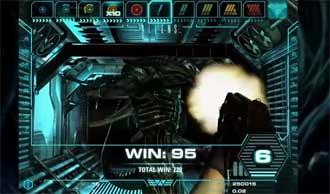 Aliens bonusspel