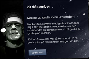 free spins Frankenstein
